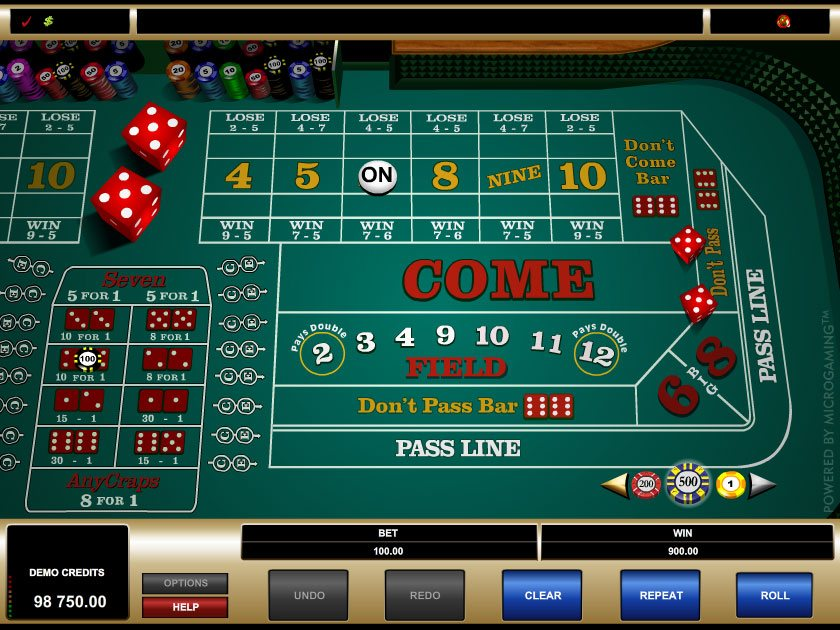 casino craps online ra game