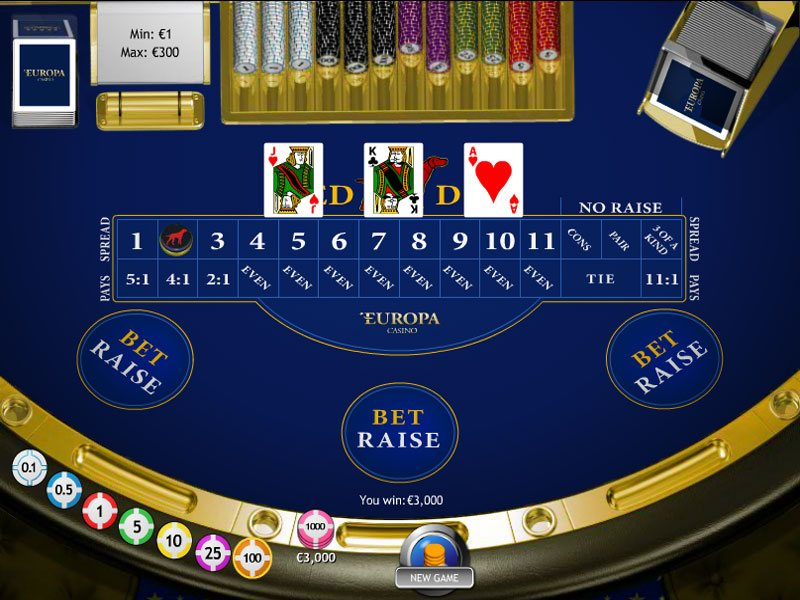 Play Red Dog Online at Casino.com Canada