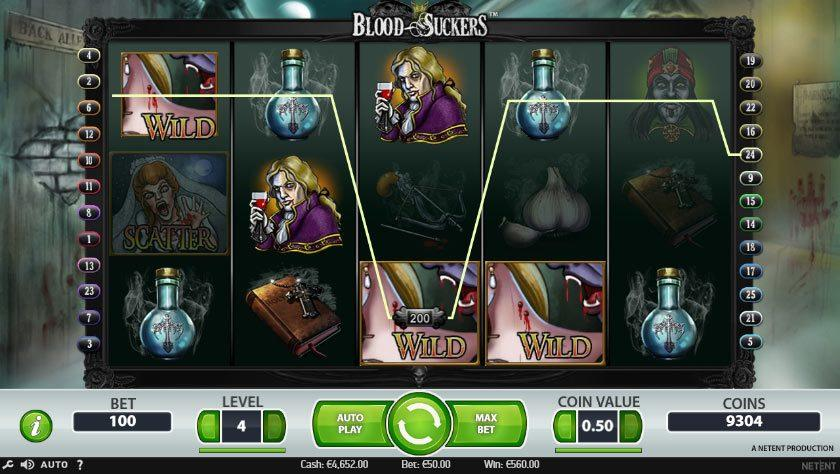 Play Blood Suckers Online Slots at Casino.com NZ