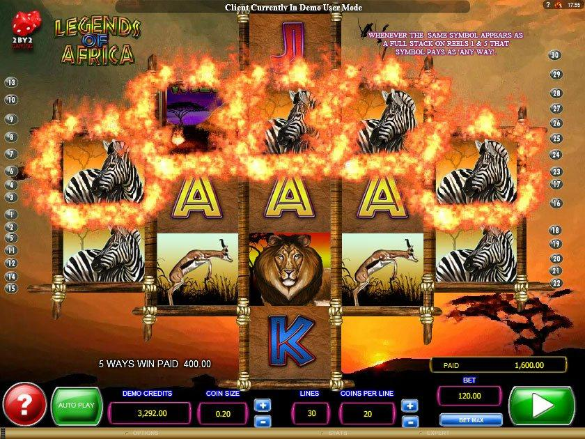 Africa Slot Machine - Free to Play Demo Version