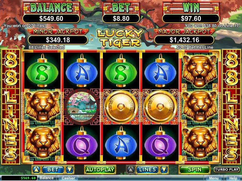 Lucky Tiger™ Slot Machine Game to Play Free in Realtime Gamings Online Casinos