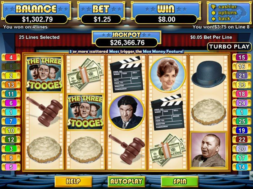 Three stooges slot machines name of casino in casino movie
