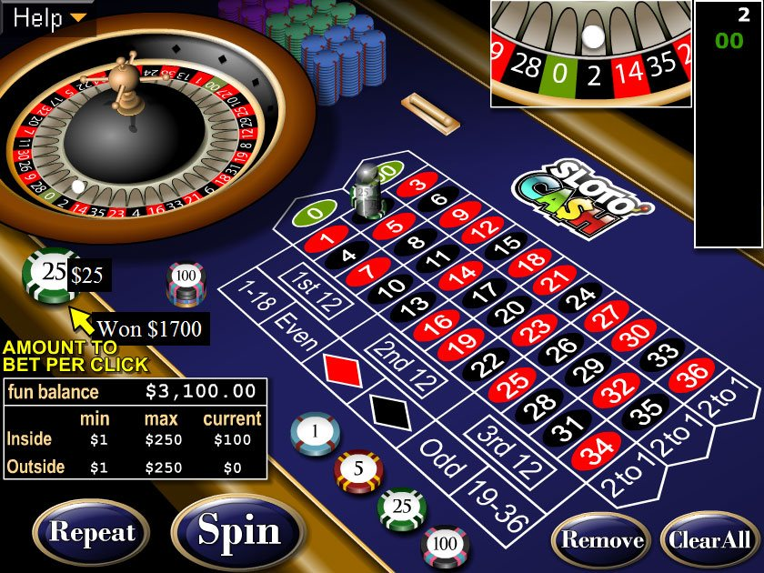 rules of casino table games