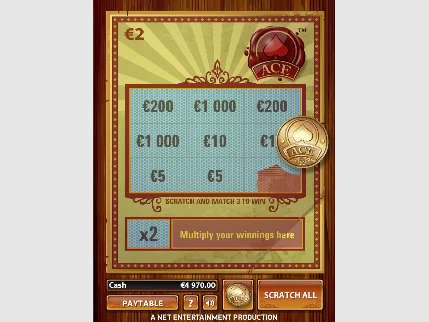 Scratch Card Real Money