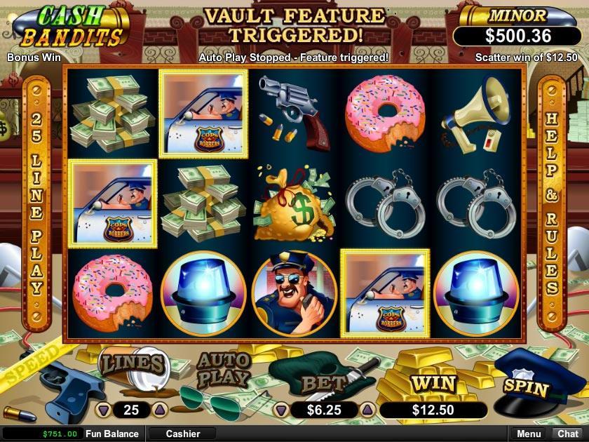Cash Bandits Slot - Collect Great Real Money Payouts at the