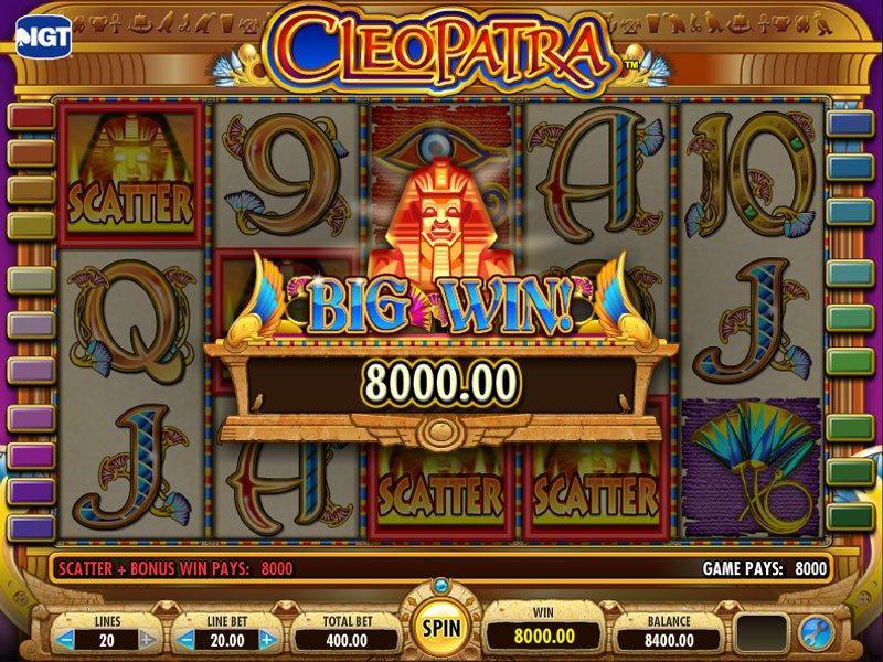 Cleopatra slots for fun really good gambling movies