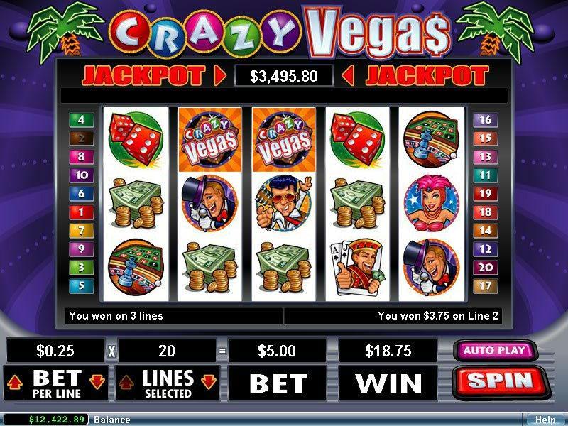 Spiele Crazy Vegas - Video Slots Online
