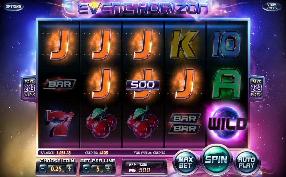 Spiele Event Horizon - Video Slots Online