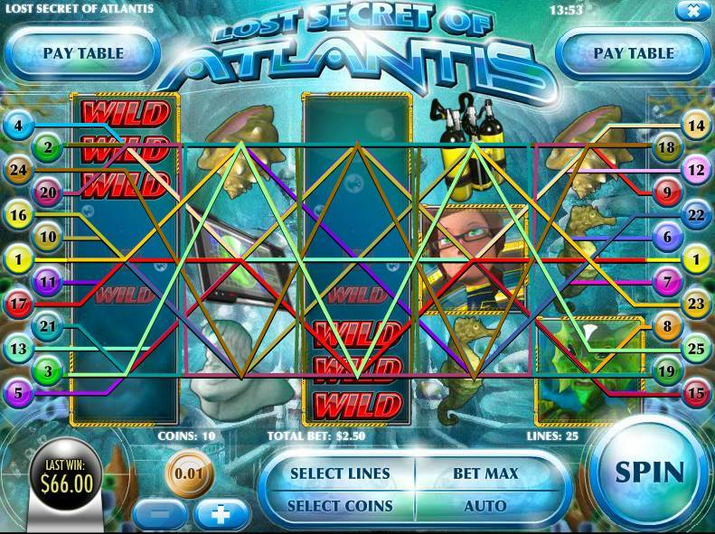 Spiele Secrets Of Atlantis - Video Slots Online