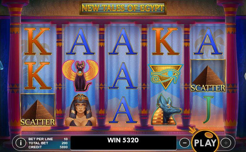 Tales of egypt slot baccarat casino edmonton