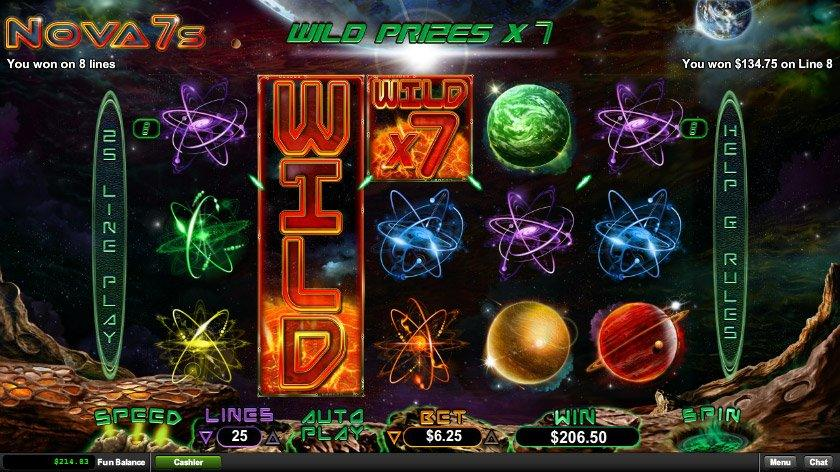 92f2f5ab782fda Enjoy Nova 7s Video Slot in a Free Play Demo Mode with No Registration  Required
