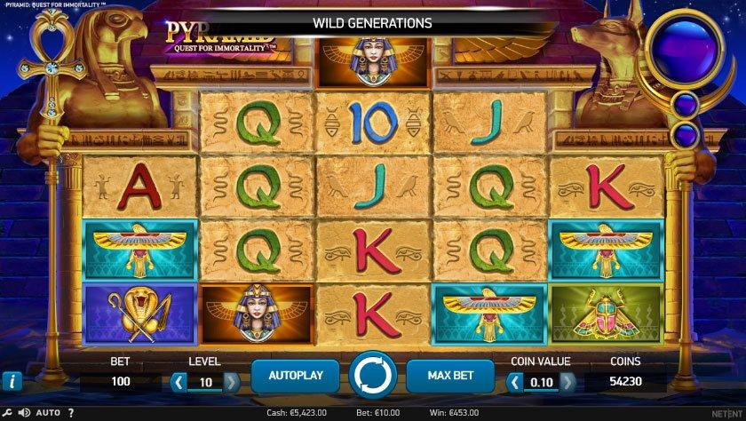 Online casino pyramid как работают слот автоматы