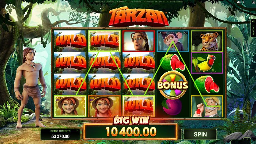 Tarzan Slot Machine Review Play For Free Or Real Money